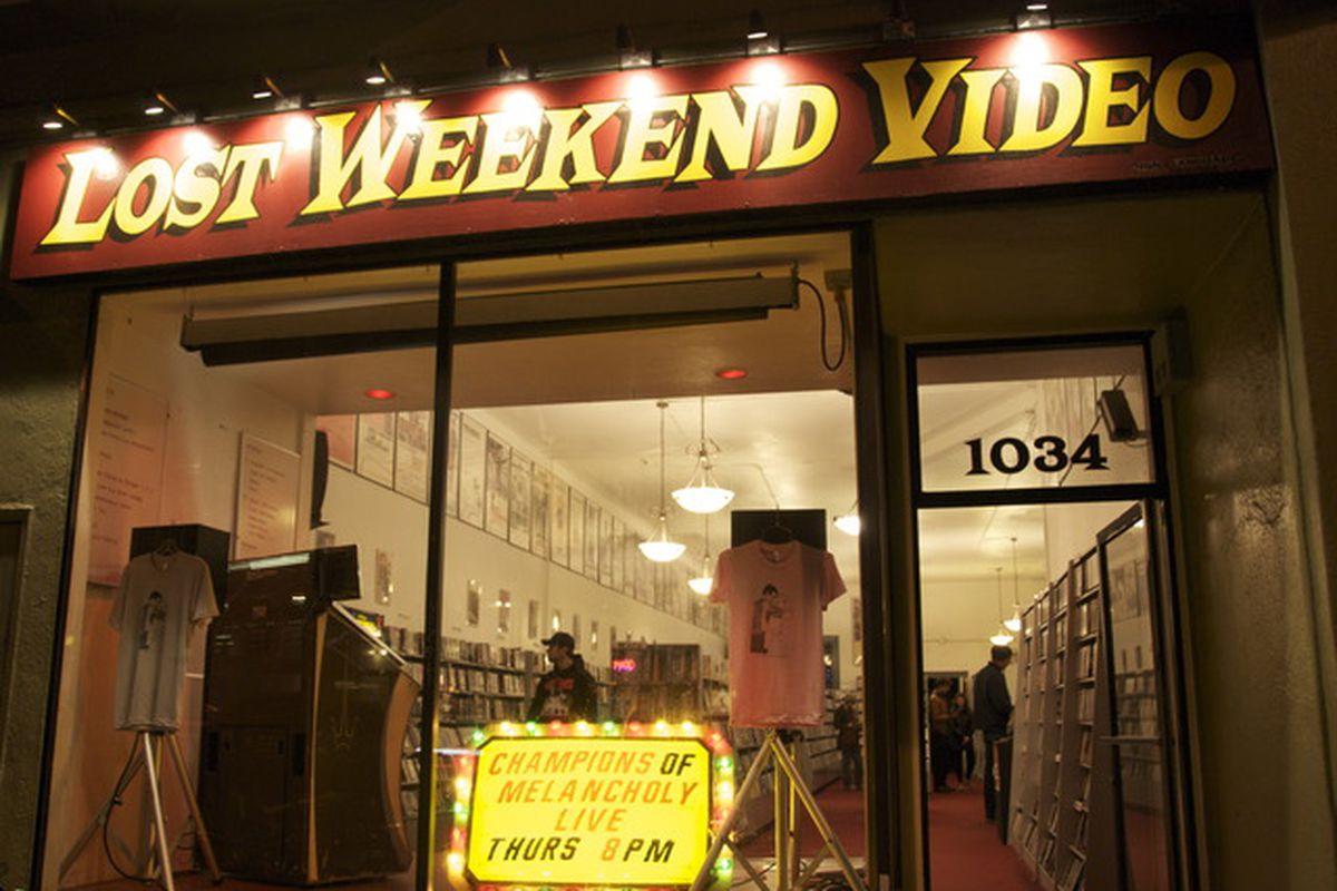 "Photo via Lost Weekend Video/<a href=""https://www.kickstarter.com/projects/lostweekendvideo/the-cinecave-at-lost-weekend-video"">Kickstarter</a>"