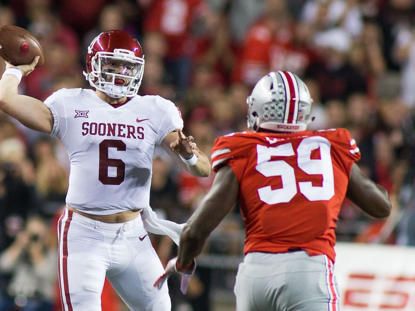 4735af3cbd7 2018 NFL mock draft: How early will Baker Mayfield get picked ...