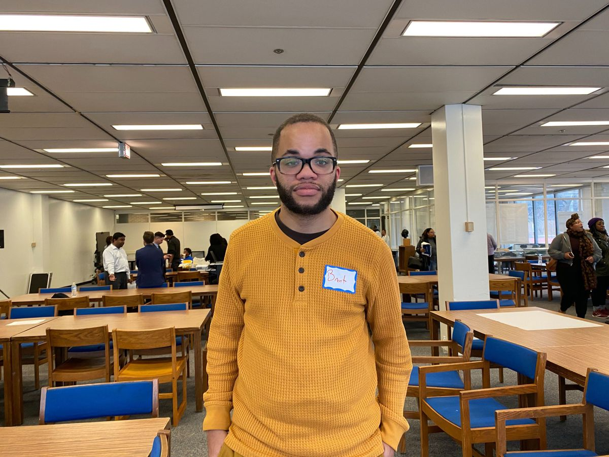 Brent Hamlet attended Chicago Public Schools growing up and now works at CICS Bucktown, a charter school.