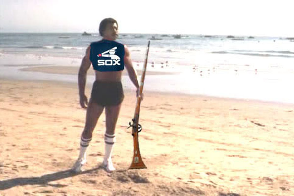rally Carl Weathers prepares for battle.