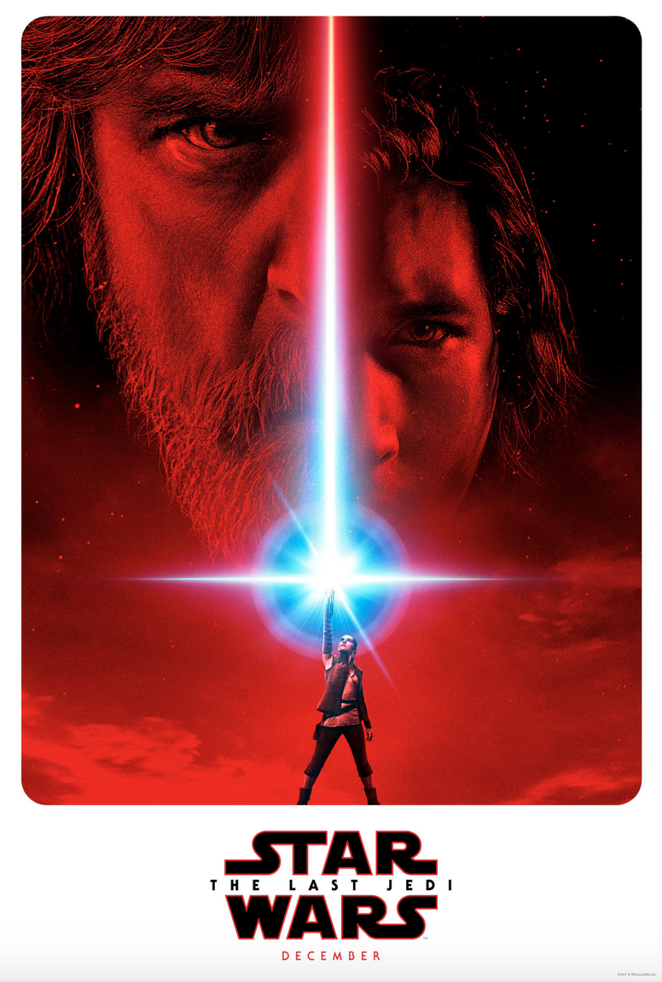 Movie poster for 'Star Wars: The Last Jedi'