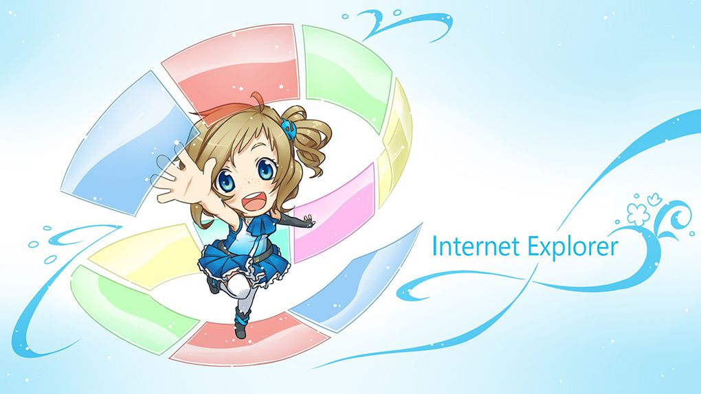 Introduced To The World In A Commercial Titled Internet Explorer The Anime Inori Is Made To Entice The Masses Rather Than Developers Or