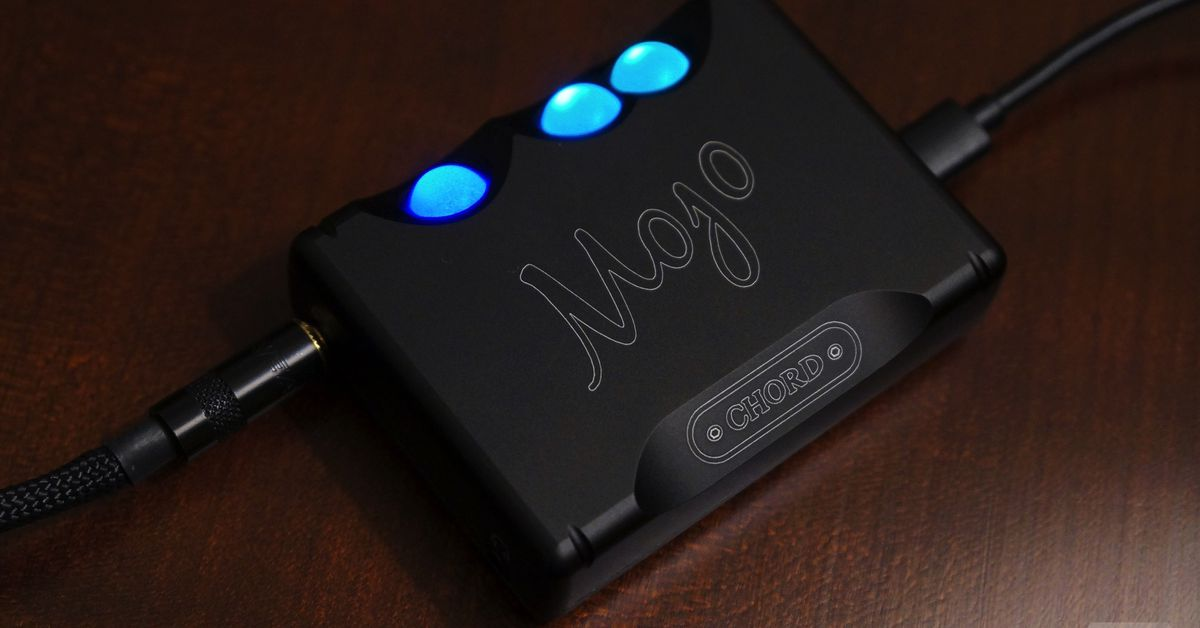 The Chord Mojo Turns Good Headphones Into Great Ones The Verge