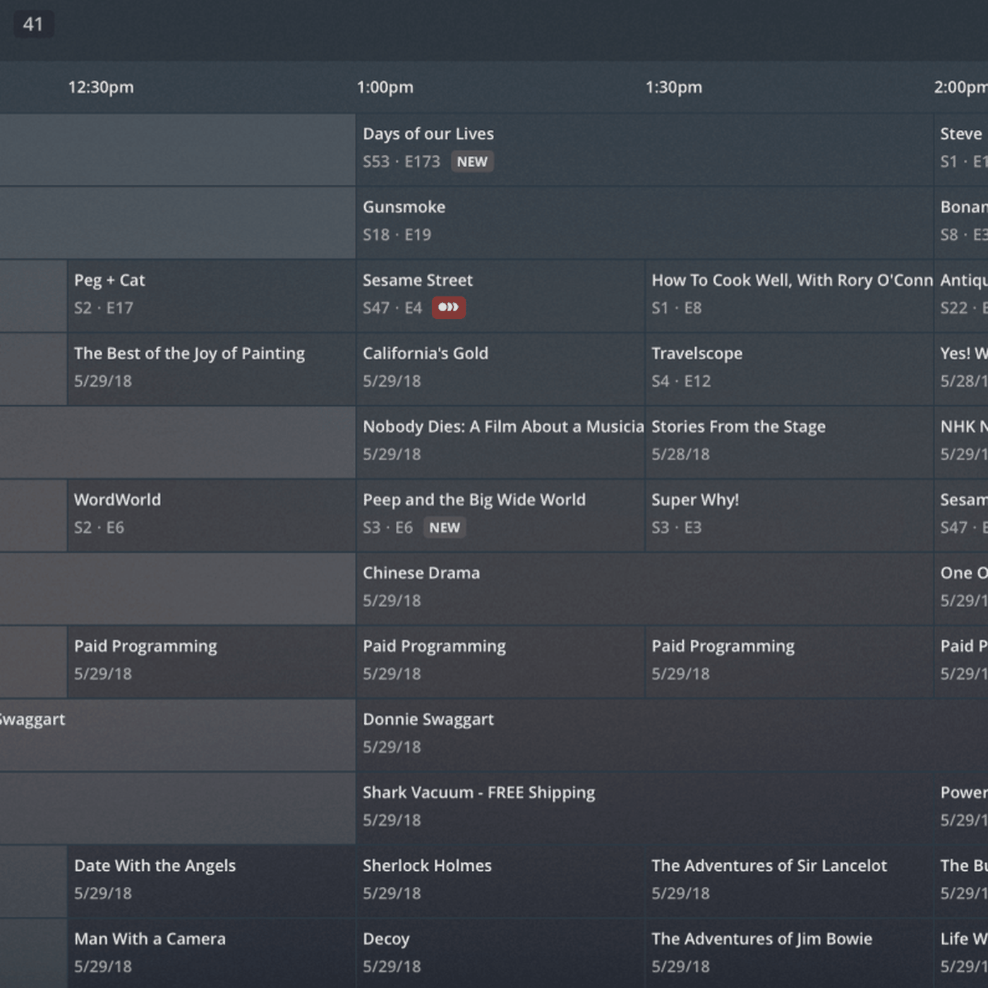 Plex users can now browse live TV with a traditional grid