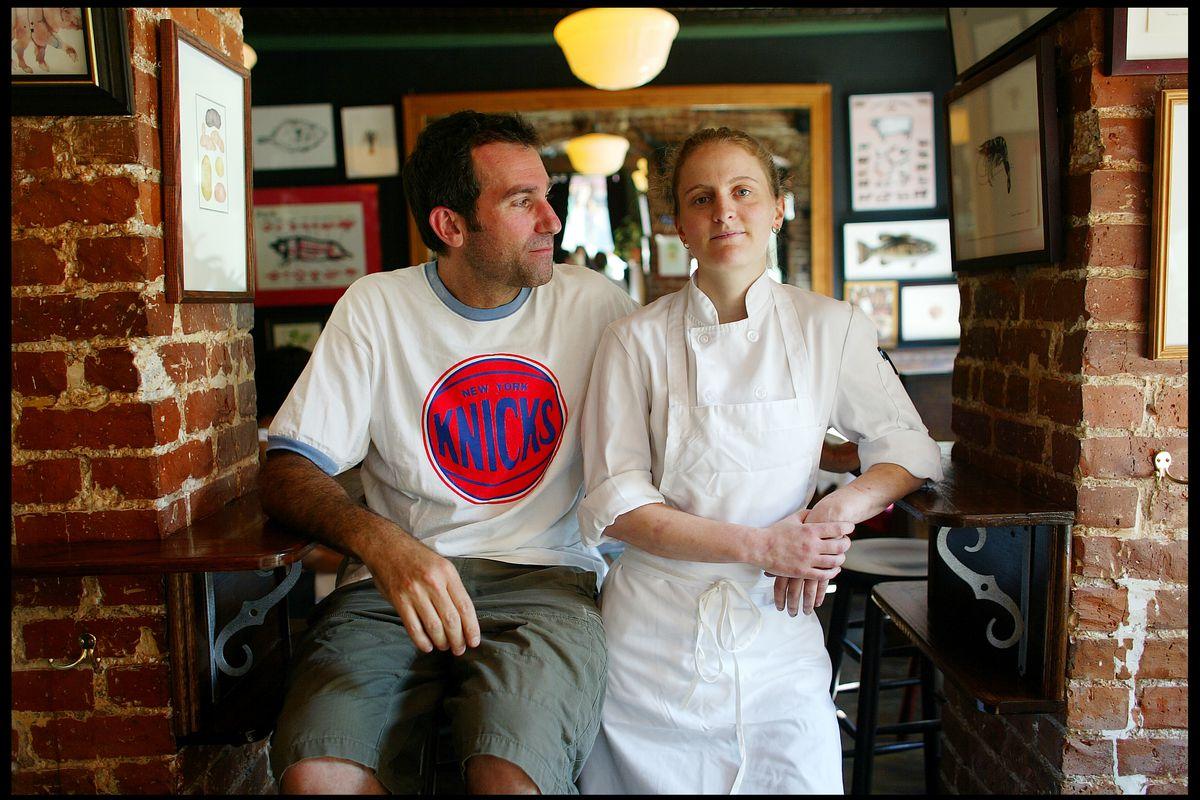 Ken Friedman and April Bloomfield
