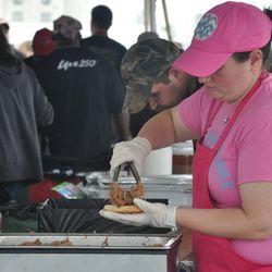 Wooden Spoke's pulled pork sandwiches were a surprise hit