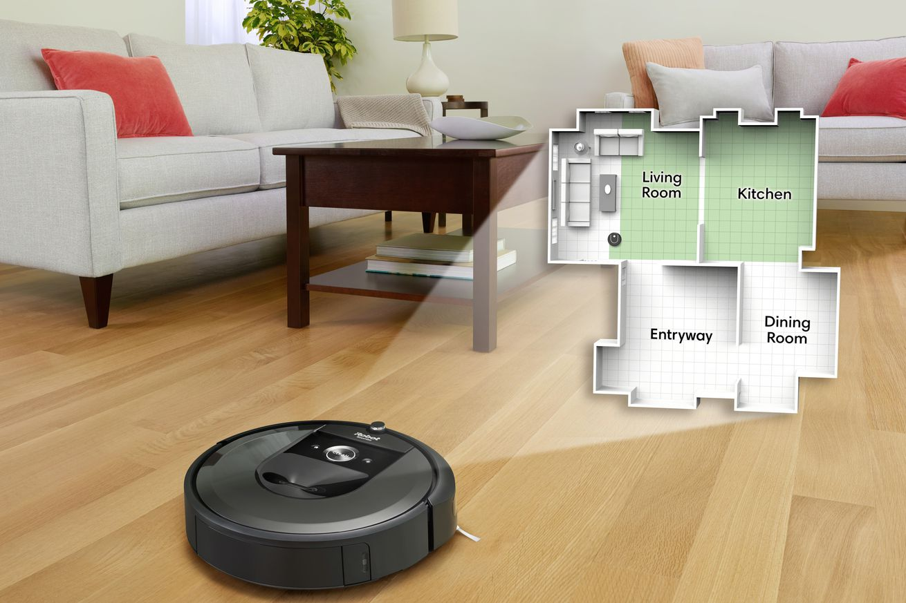 google wants to improve your smart home with irobot s room maps