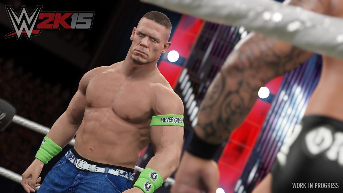 WWE 2K15 John Cena screenshot 1920