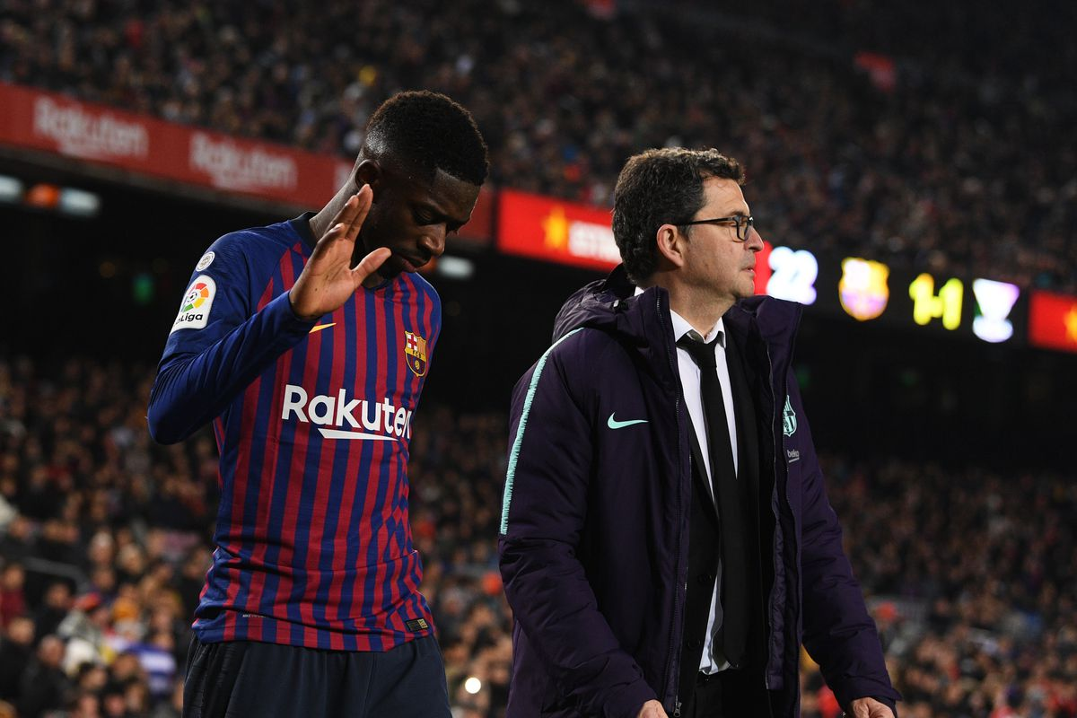 8960ddabd9c FC Barcelona News: 1 February 2019; Barcelona Announce Two Transfers,  Ousmane Dembele Ruled Out Against Valencia