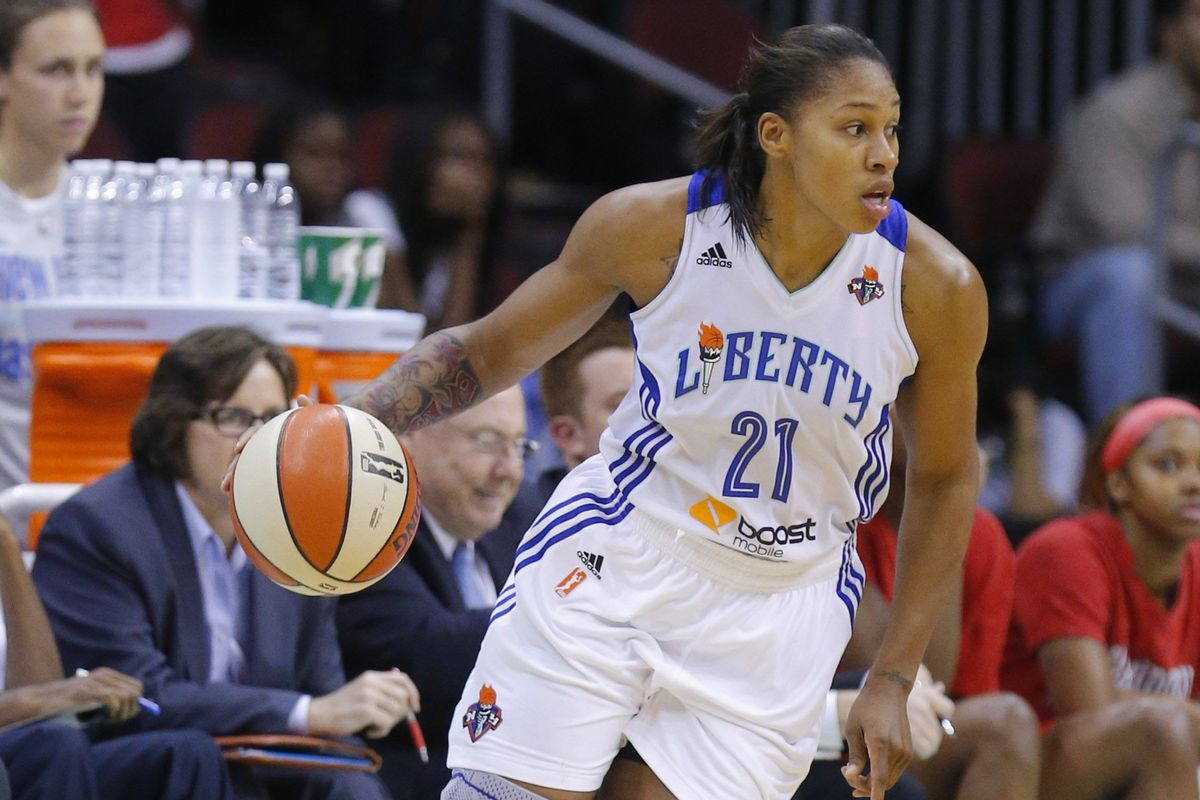 New York Liberty wing Alex Montgomery might turn out to be a key to the team's success this season.