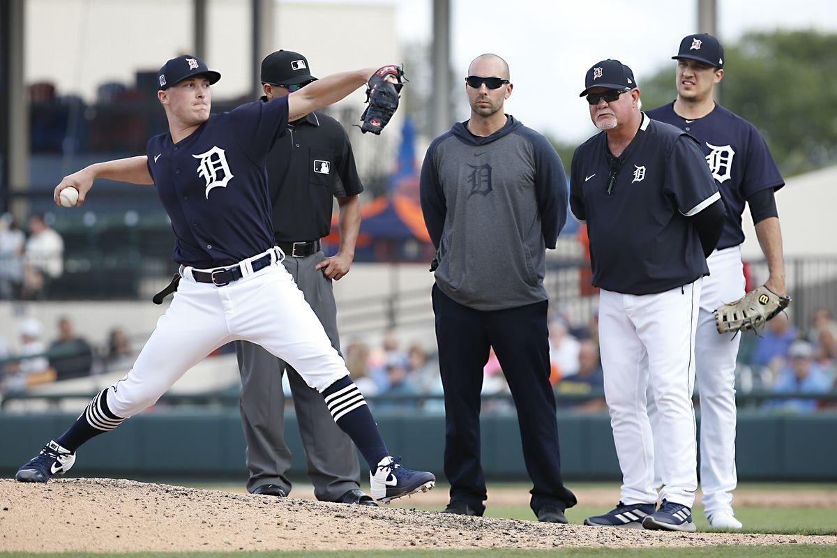 MLB: Spring Training-Philadelphia Phillies at Detroit Tigers
