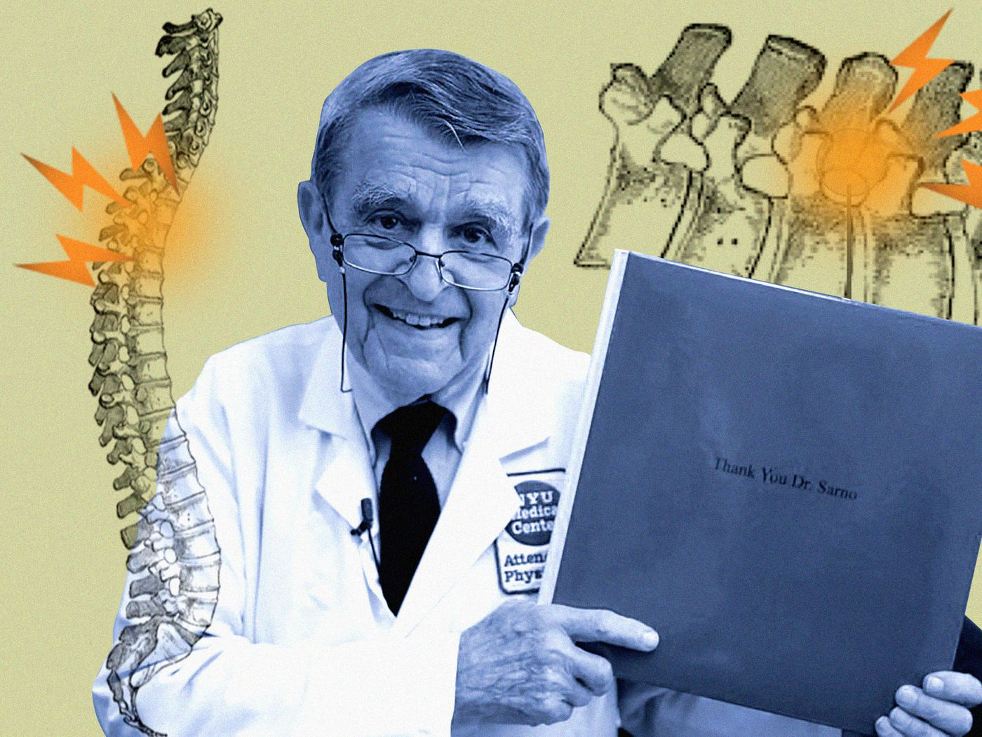 Dr  John Sarno is America's most famous back pain doctor  He