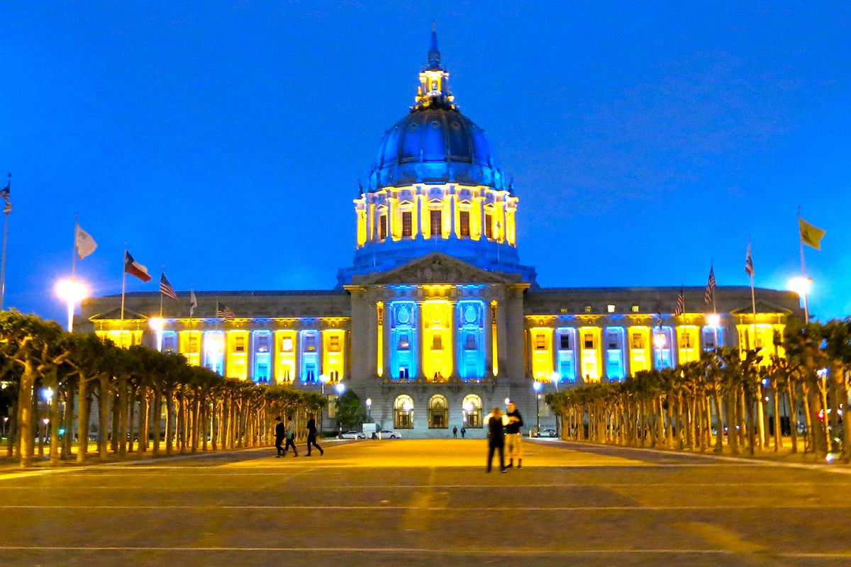 Who Makes The City Hall Lights Call Curbed Sf