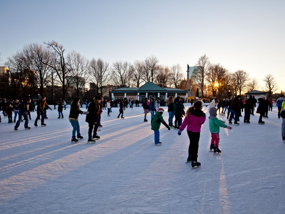 Where To Ice Skate In The Boston Area For Virtually Free Curbed Boston