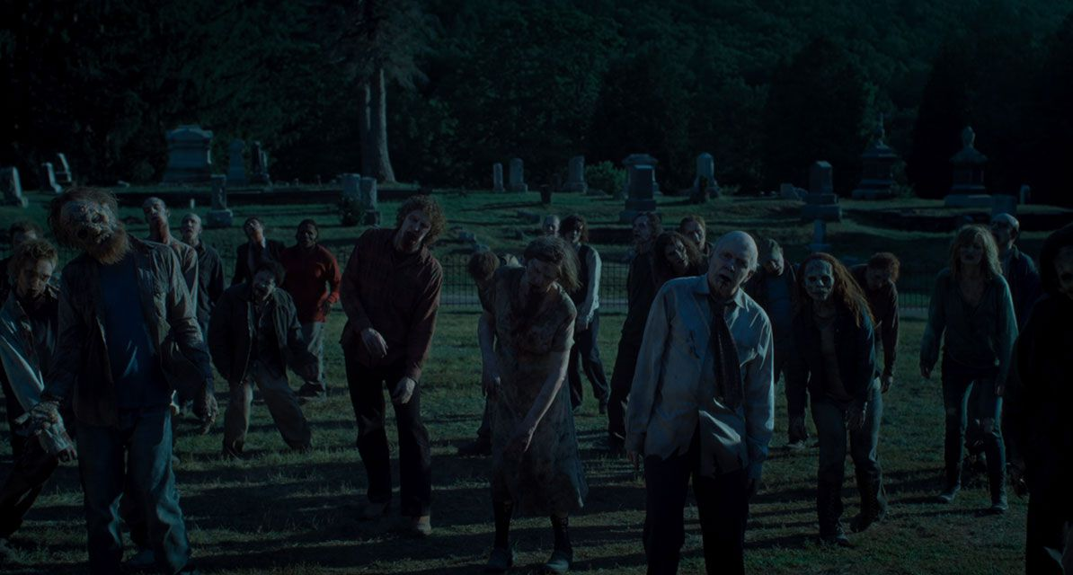 The zombies of The Dead Don't Die.
