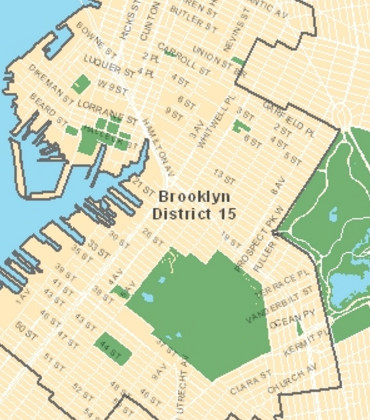 District 15 in Brooklyn includes Park Slope, Carroll Gardens, Red Hook and Sunset Park. (Photo credit: New York City Department of Education)