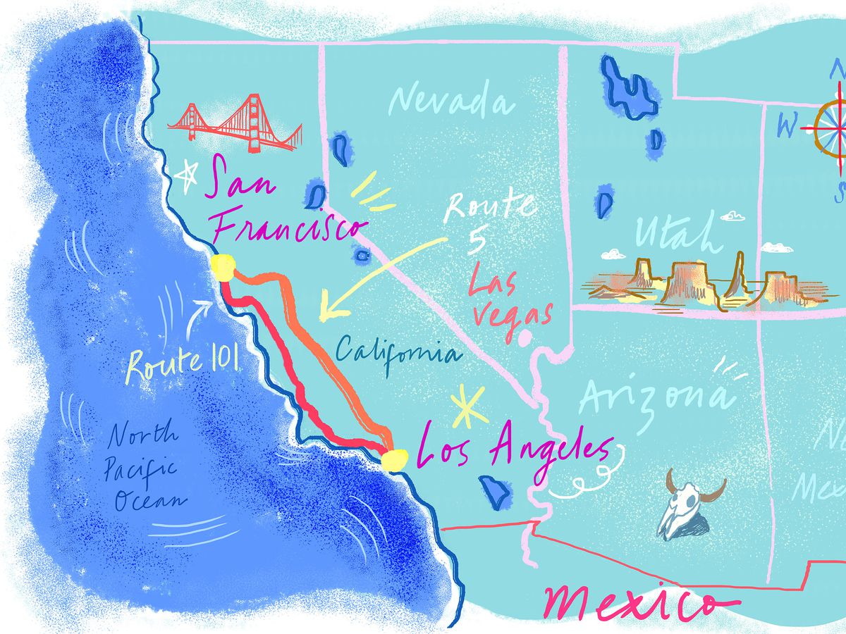 Where to Eat Along the PCH and I-5 Between SF and LA - Eater on map of california monterey bay area, map of california santa cruz area, map around los angeles, map of los angeles suburbs, map of los angeles and lax, map of greater los angeles, map of airports in los angeles area, map of california with los angeles, map of los angeles county, greater los angeles california area, map for los angeles, map of red bluff california area, map of cities near los angeles, map of los angeles and surrounding areas, map of the city of los angeles, map of lax to anaheim, map of thousand oaks california area, map of california san francisco bay area, map of southern los angeles, map of la,