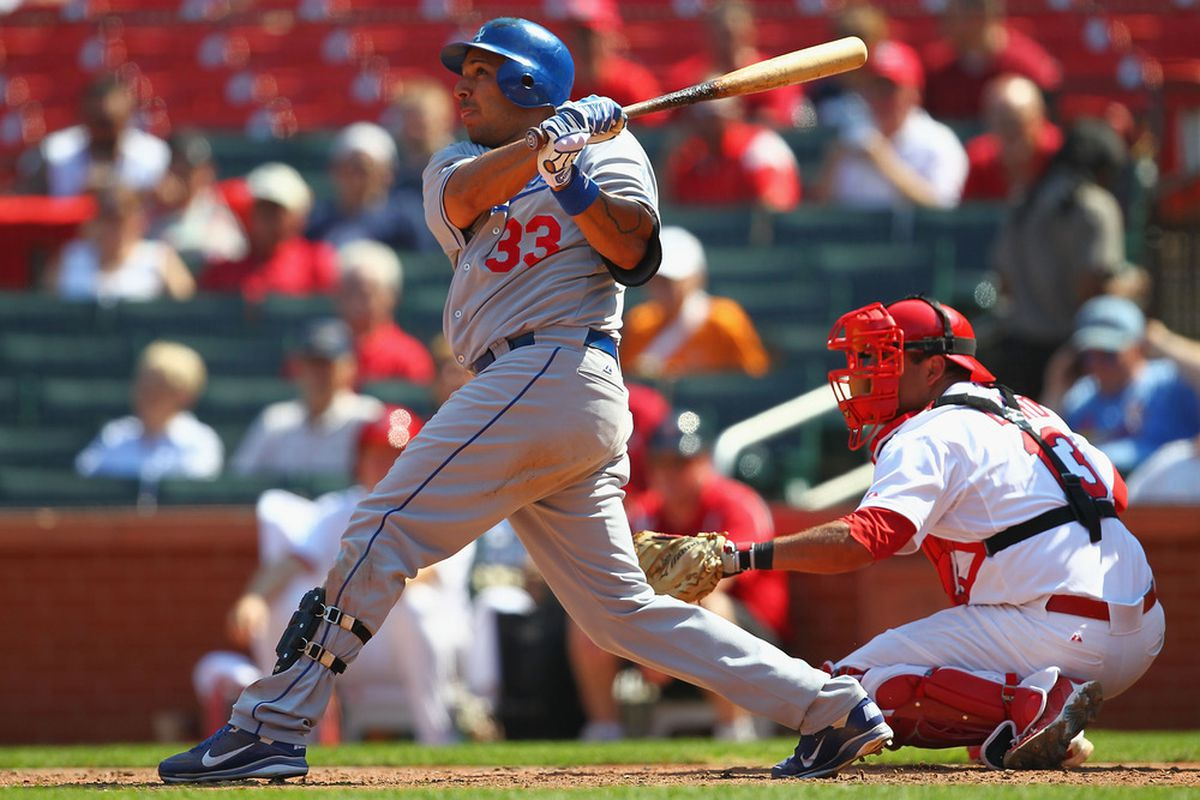 Juan Rivera parlayed his strong hitting with runners in scoring position into a reported $4 million guarantee with the Dodgers.