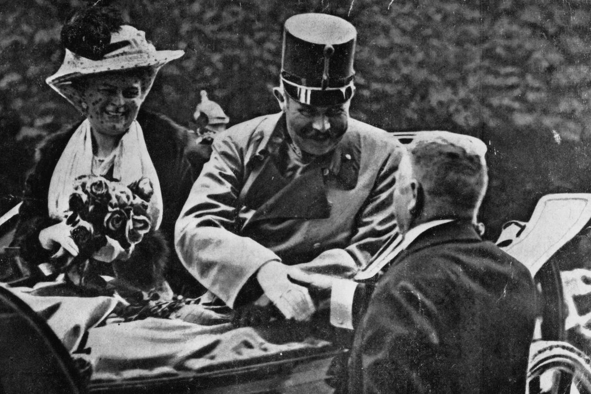 the consequences of the assassination of the austrian archduke and his wife sophia