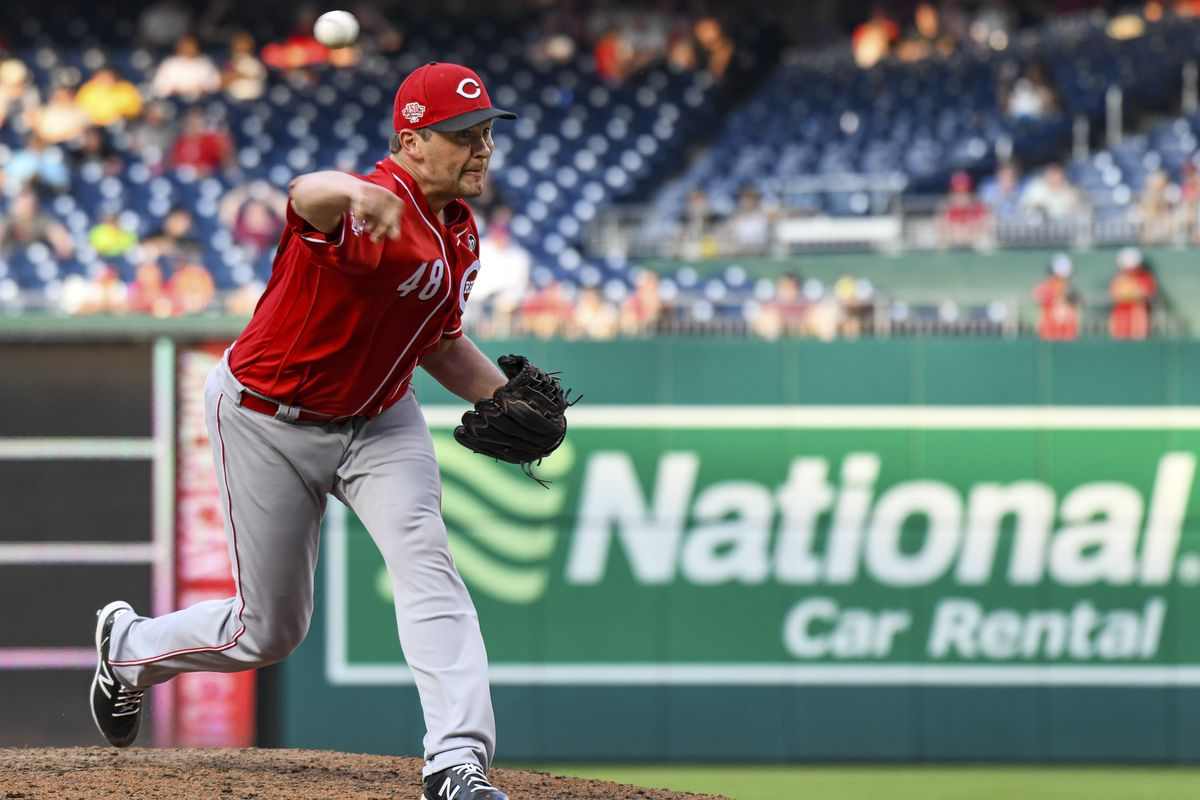MLB: AUG 14 Reds at Nationals