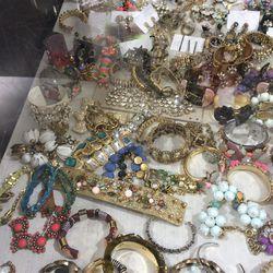 Bracelets and earrings, $25