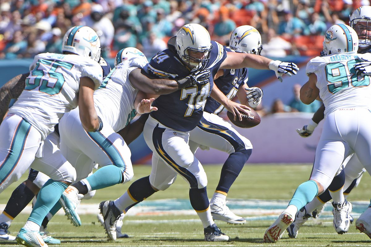 NFL: NOV 02 Chargers at Dolphins