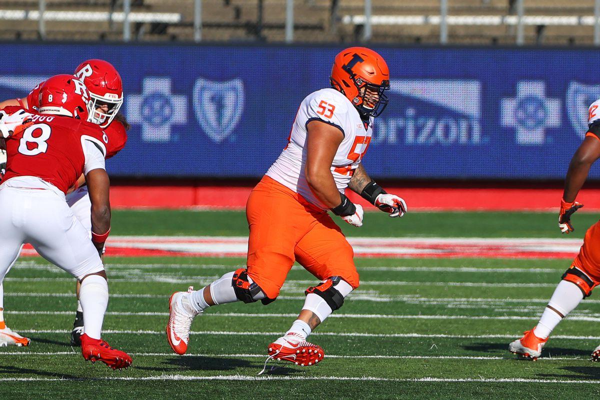COLLEGE FOOTBALL: NOV 14 Illinois at Rutgers