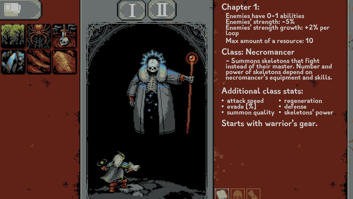 Loop Hero class guide: Necromancer
