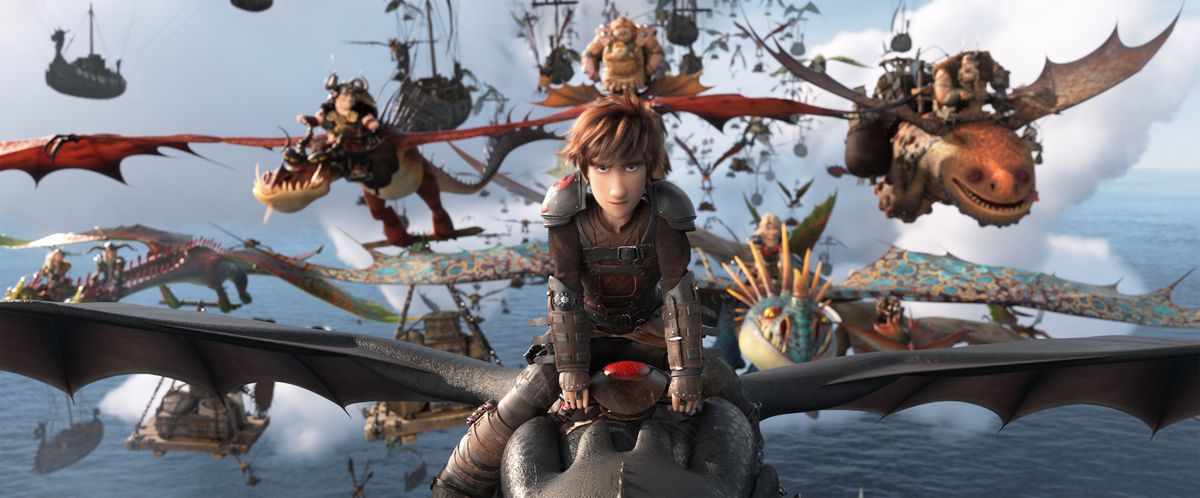 how to train your dragon hidden world