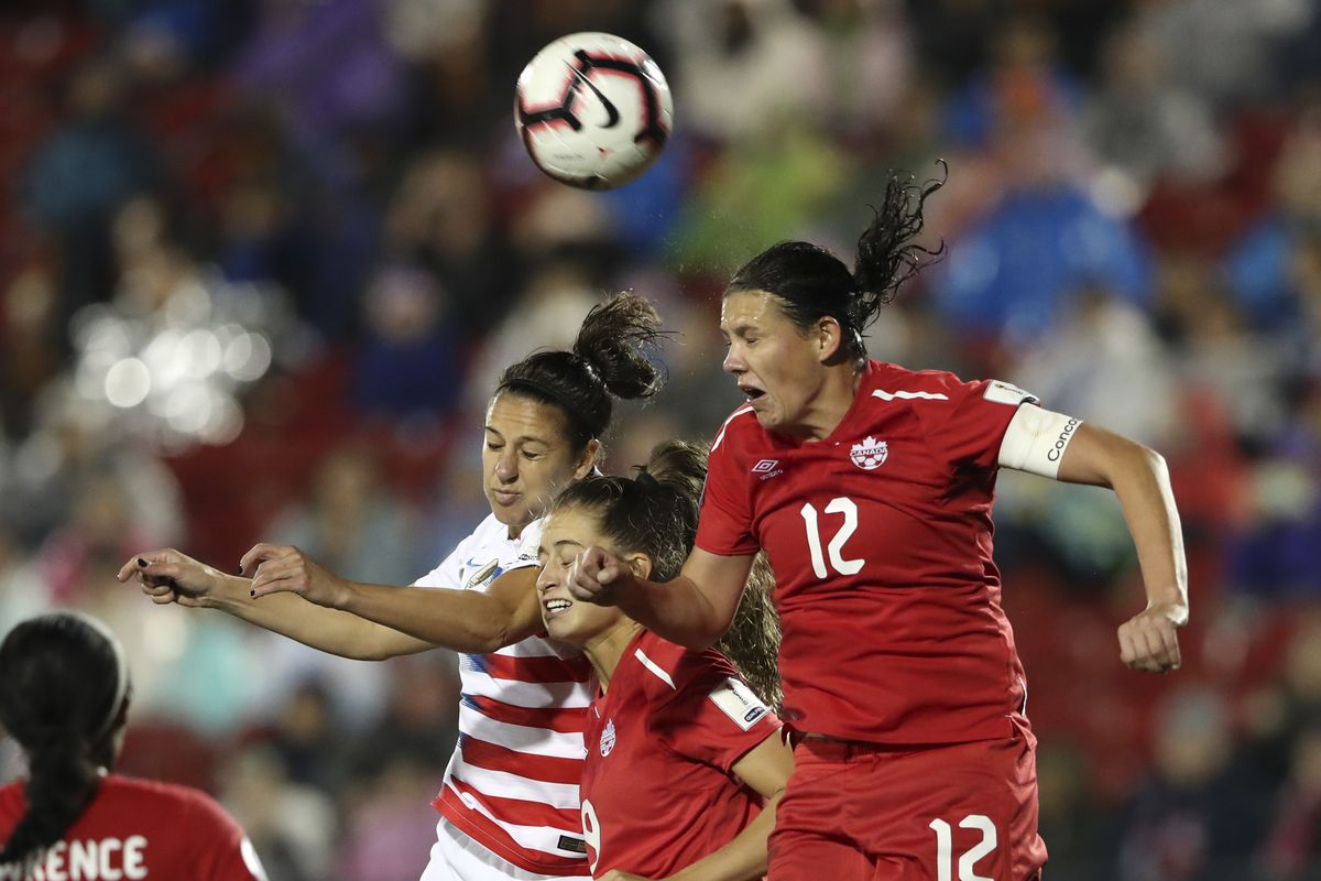 Soccer: 2018 CONCACAF Women's Championship-Canada at USA