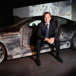 Ben Collins with Aston Martin DBS