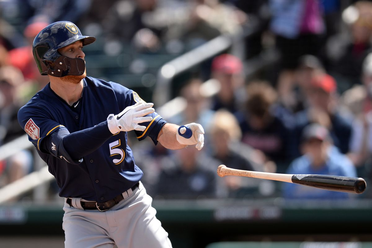MLB: Spring Training-Milwaukee Brewers at Cleveland Indians