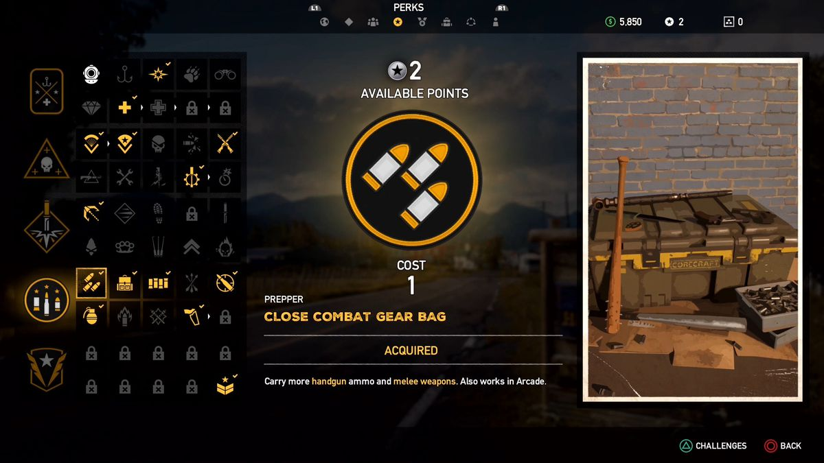 Far Cry 5 Skills Perks Guide Polygon