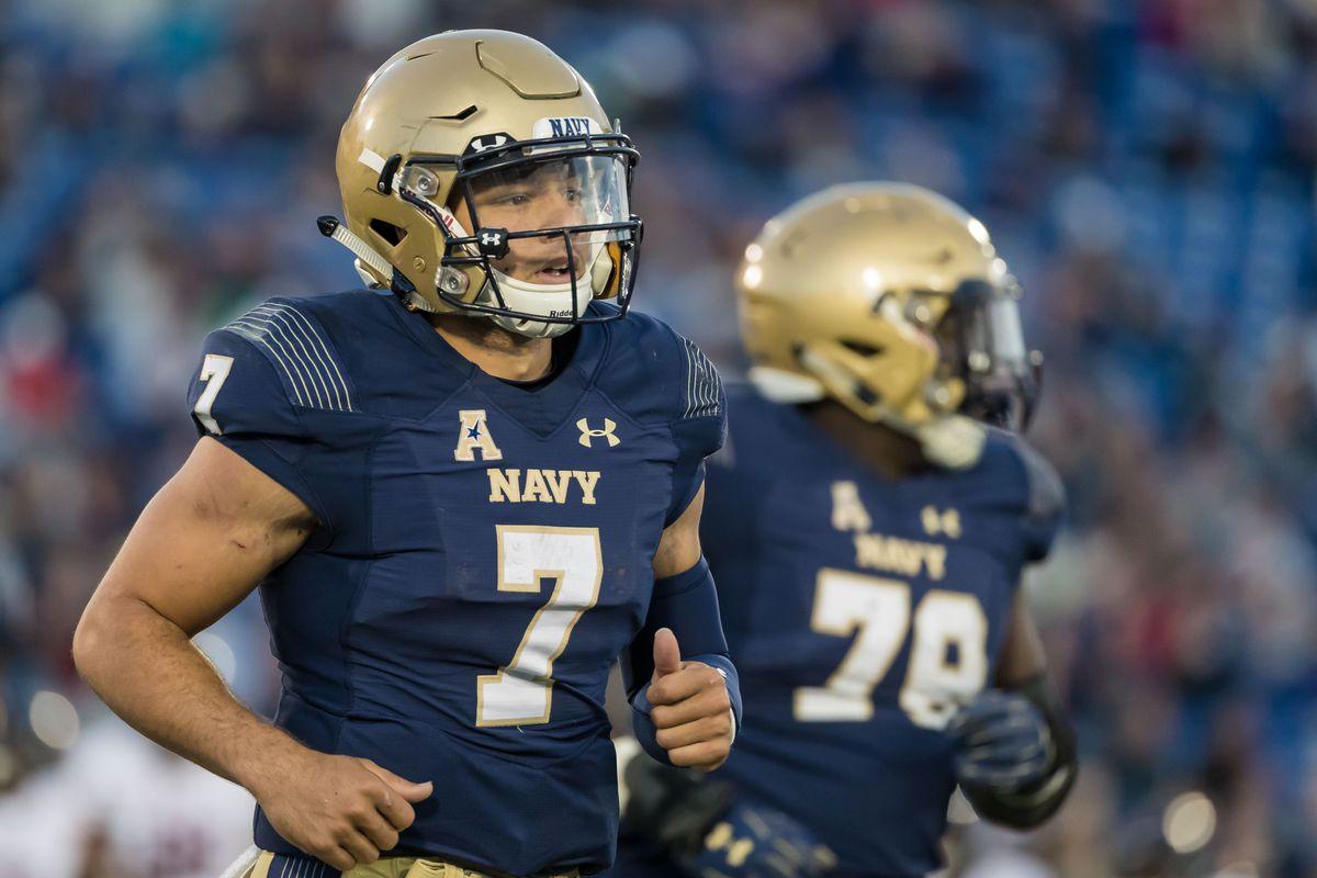 NCAA Football: Temple at Navy