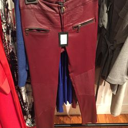 Leather pants, $350 (were $1,795)