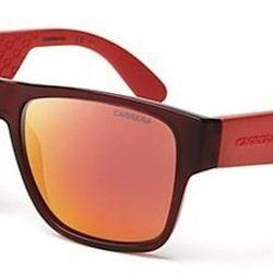 "<strong>Carrera</strong> Mirrored Wayfarer Sunglasses in Burgundy/Orange, <a href=""http://www1.bloomingdales.com/shop/product/carrera-mirrored-wayfarer-sunglasses?ID=695765&CategoryID=1000068#fn=spp%3D73%26ppp%3D96%26sp%3D1%26rid%3D2%26spc%3D183"">$99</a>"