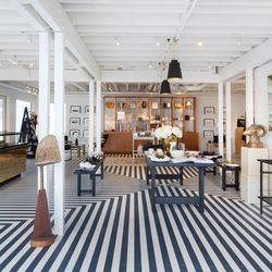 """""""We wanted to recreate the quintessential Alchemy Works experience at Lido Marina Village but make a more dramatic statement with a modern black and white take on things,"""" says Alchemy Works co-founder Lindsay Parton."""