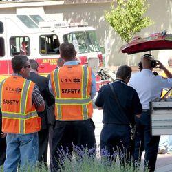 10 sent to hospital following accidental hazmat incident at