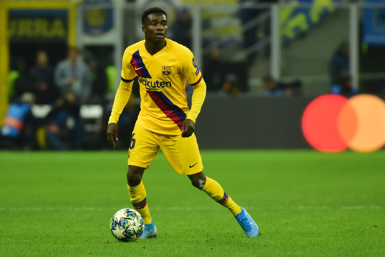 Moussa Wague to leave Barcelona for PAOK loan - report