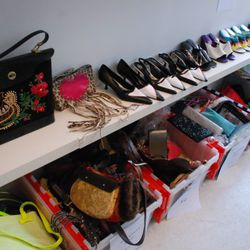 Shoes, bags, clutches...everything