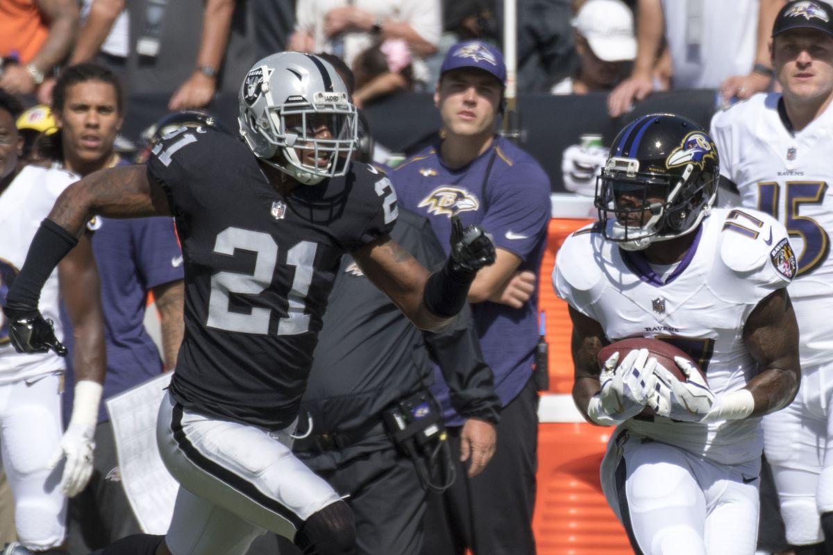 NFL: Baltimore Ravens at Oakland Raiders