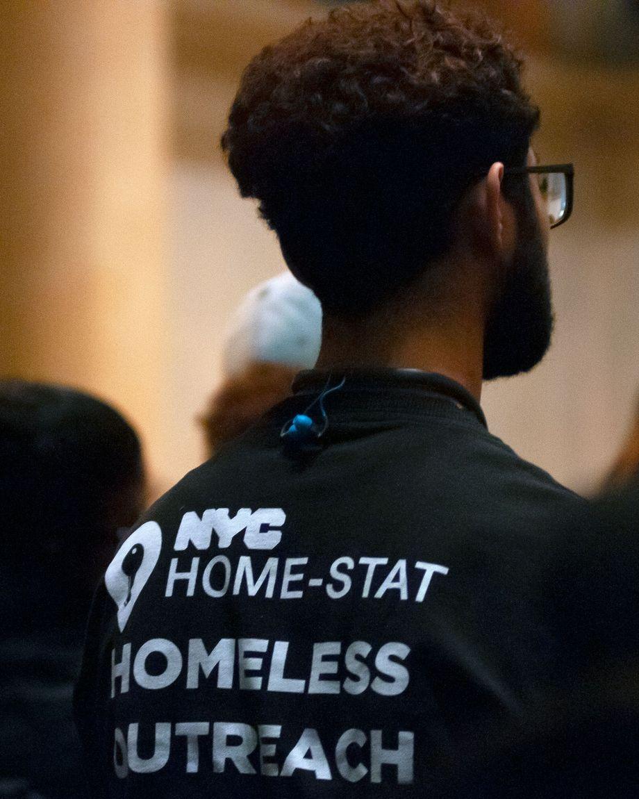 Homeless outreach worker