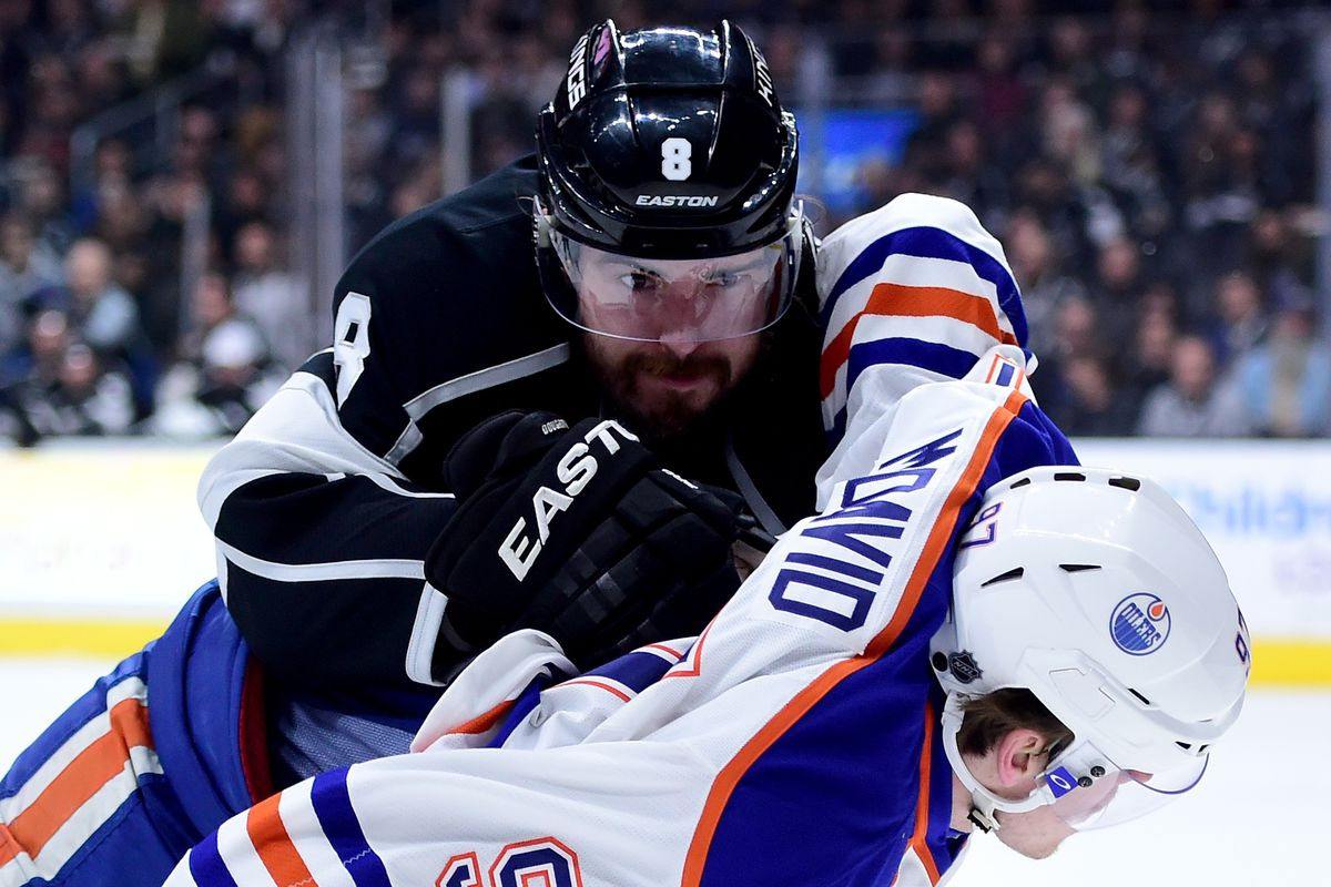 Drew Doughty lugging around dead weight, what else is new