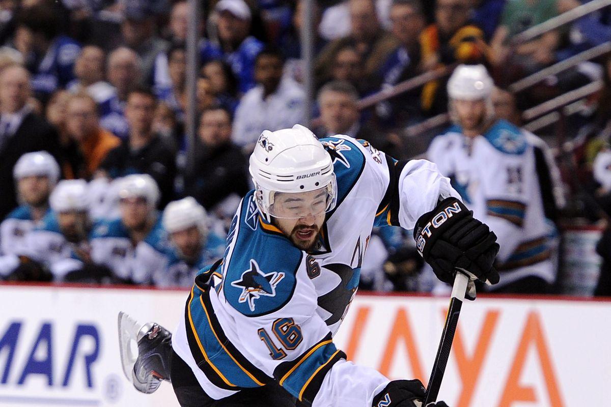 San Jose Sharks v Vancouver Canucks - Game One