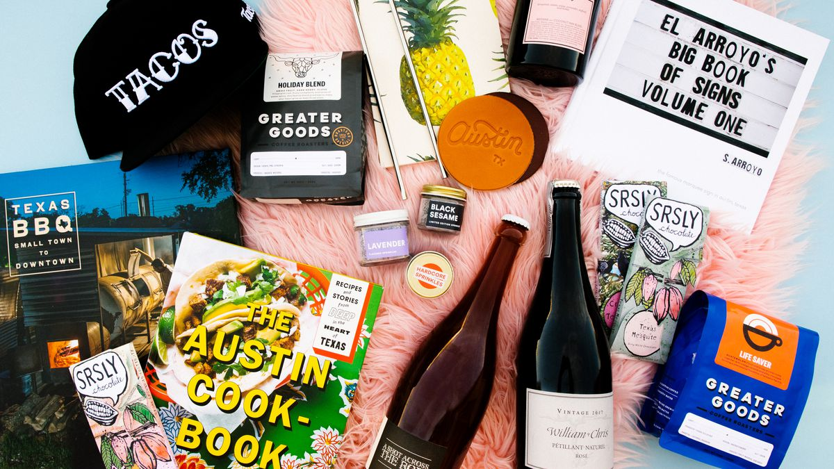 Eater Austin's food and drink gift suggestions