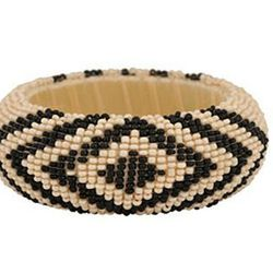 """<a href=""""http://www.forever21.com/Product/Product.aspx?category=ACC&ProductID=1000036615&utm_source=google&utm_medium=base&utm_campaign=product_feed""""> Forever 21 Tribal beaded bracelet</a>, $6.80 forever21.com"""