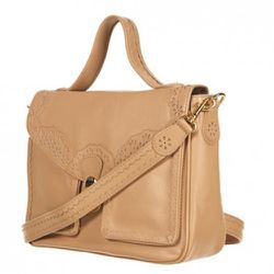 Topshop, Premium Stamped Leather Tote, $170