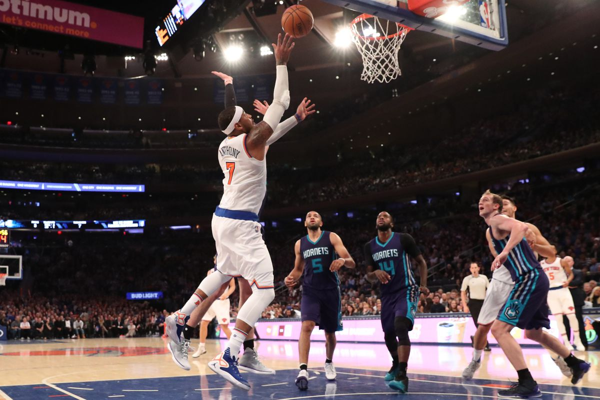 NBA: Charlotte Hornets at New York Knicks