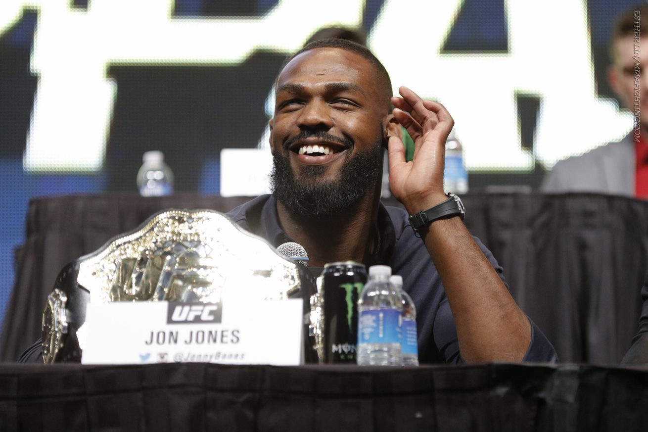 Jon Jones is scheduled to fight Anthony Smith at UFC 235.