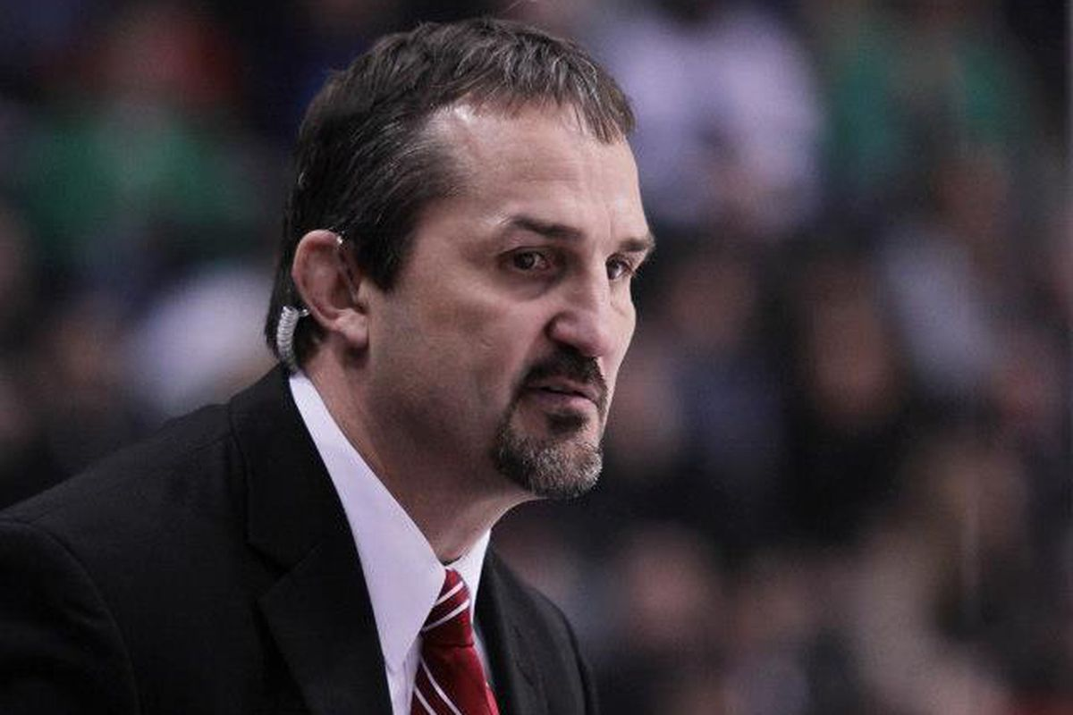 Gary Shuchuk was fired on Tuesday after five seasons behind the Wisconsin bench.